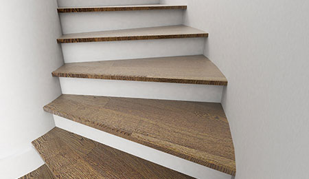 Soorten trappen stalen betonnen houten trappen - Binnen trap ...