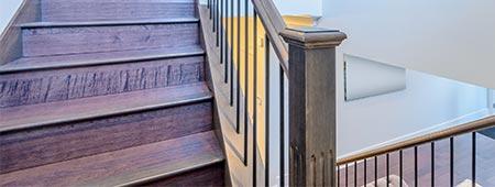 trapbekleding voor dichte trap