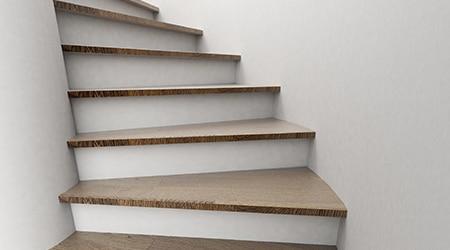 Uw trap bekleden met laminaat? zicht op de mogelijkheden & kosten!